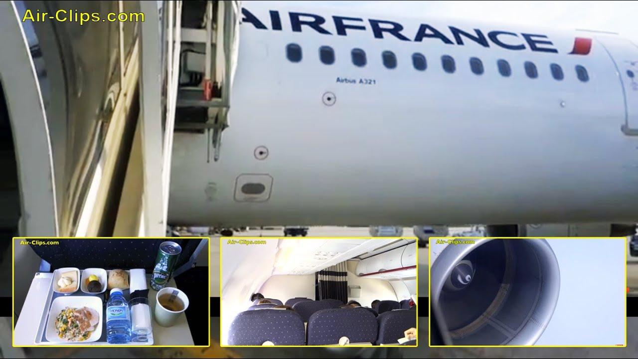 Air france airbus a321 premium class paris cdg to for Oficinas air france barcelona