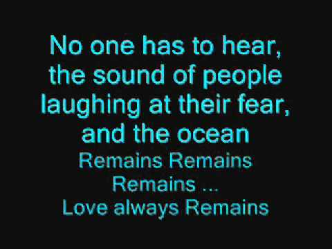 MGMT - Love Always Remains Lyrics