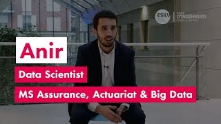 Anir, Data Scientist,  MS Assurance, Actuariat & Big Data