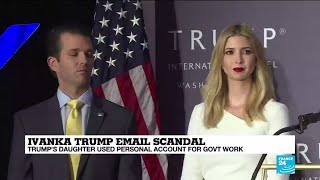 "Ivanka Trump email scandal: ""The president and his family are not above the law"""