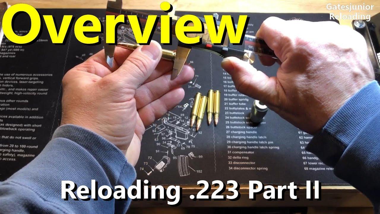 Reloading 223 on Dillon Part II