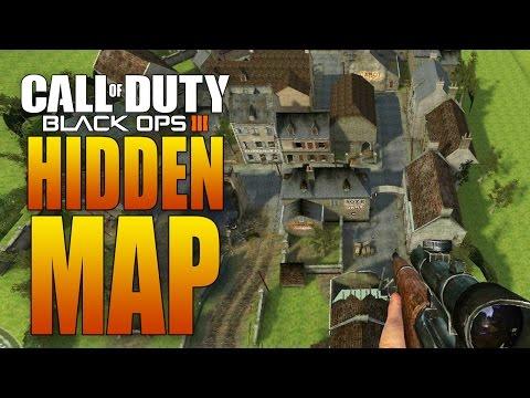 """HIDDEN WORLD WAR II MAP IN BLACK OPS 3! (""""Carentan"""" from Call of Duty 2 DLC?!)"""