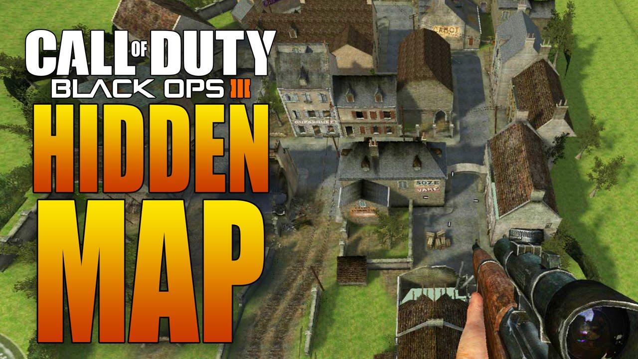 Hidden world war ii map in black ops 3 carentan from call of hidden world war ii map in black ops 3 carentan from call of duty 2 dlc youtube gumiabroncs Gallery