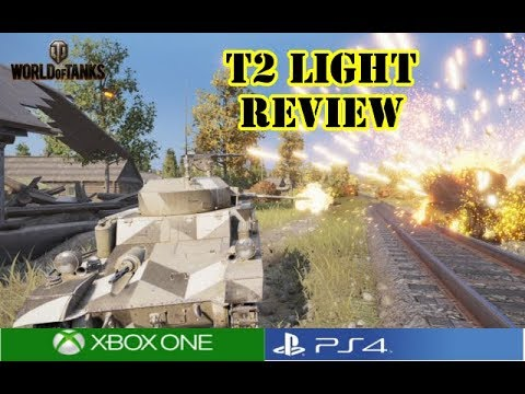 World of Tanks - T2 Light Review
