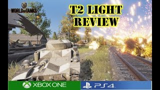 World of Tanks - T2 Light Review