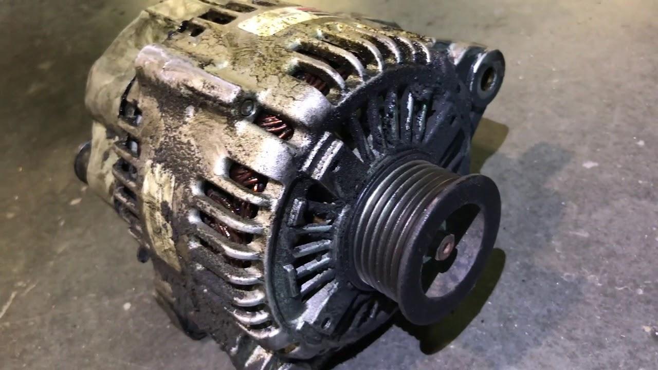 2007 Hyundai Santa Fe 3 3l Alternator Removal