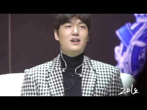 """160116 Lee Min Ho 1st Talk Concert """" 이것 또한 지나가리라"""""""