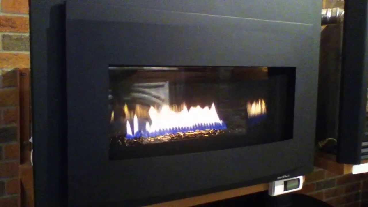 Heat & Glo Cosmo Gas Insert - YouTube
