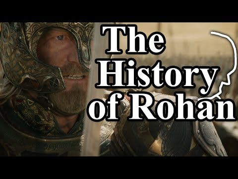 The History of Rohan - Hammerhand, Hornburg, Beacons, Theoden, Isengard & White Horses | LotR Lore