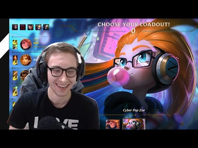 564. Bjergsen - Zoe vs Karma - Mid - November 21st, 2017 - Patch 7.23 PreSeason 8