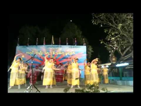 Karen New Year 2750 (Mahar Yangon) 1st Prize Winner of Done Dance Part 2