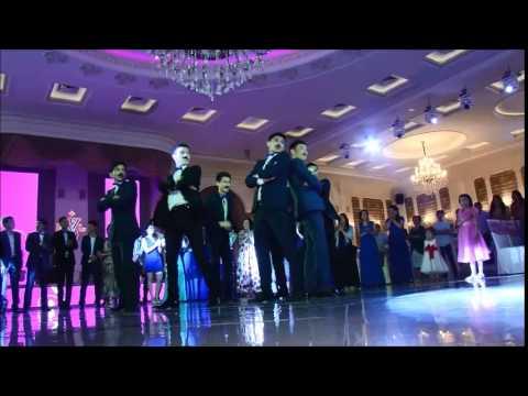 ЛУЧШИЙ Свадебный ФлешМоб.Бишкек Азамат Линура 31.05.2015