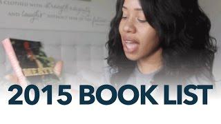 2015 Book List | #SmartBrownGirl | Jouelzy