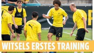 Erstes BVB-Training für Axel Witsel