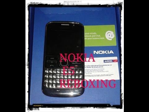 NOKIA E5 REBOXING