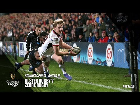 PRO14 Round 16 Highlights: Ulster Rugby v Zebre Rugby