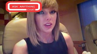 Taylor Swift Talks About Secret Sessions & Ed Sheeran From Her Private Jet. Full Chat Here
