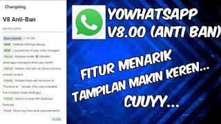 Gambar cover Cara mendownload YoWhatsapp versi V8 terbaru 2019 (Anti Ban)