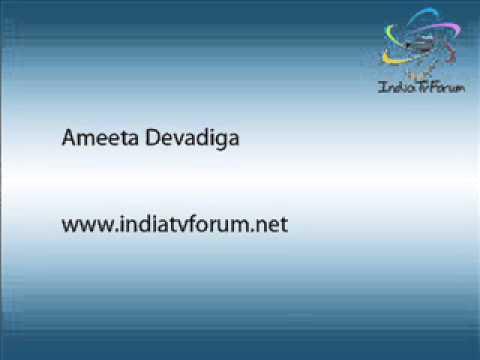 Ameeta Devadiga Interview-17 Jan 2014