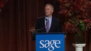 SAGE Chief Executive Officer Michael Adams at the 21st SAGE Awards