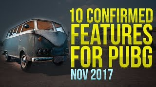 10 Confirmed Features For PUBG