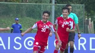 Thailand 1-2 Tajikistan (AFC U16 Malaysia 2018 : Group Stage)