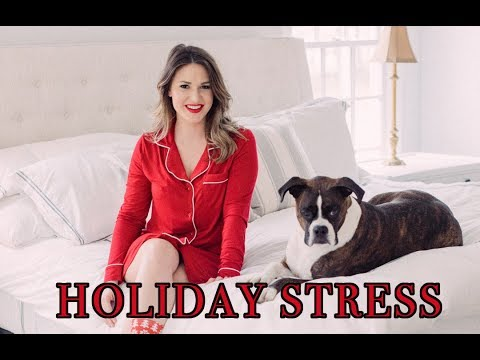 HOLIDAY PAMPER + 5 WAYS TO DEAL WITH HOLIDAY STRESS