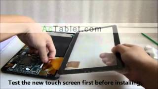 10 1 allwinner a23 a20 rk3168 tablet disassembly lcd touch screen replacement