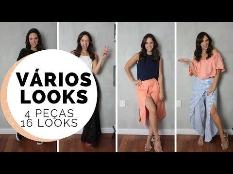 4 PEÇAS, 16 LOOKS | MARI FLOR