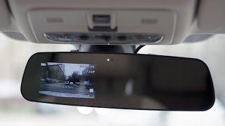 Видеорегистратор зеркало с камерой, обзор видеорегистратора