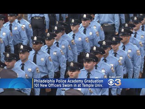 101 New Philadelphia Police Officers Sworn In