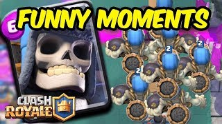 Clash LOL Funny Montages And Glitches  Trolls - Clash Royale Funny Moments Hightlights Live 2017 5