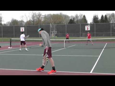 Boys Varsity Tennis Baldwinsville VS Auburn 5/5/2016