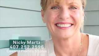 Nicky Martz Central Florida 55 Plus Communities