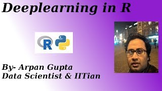 Deep learning in R