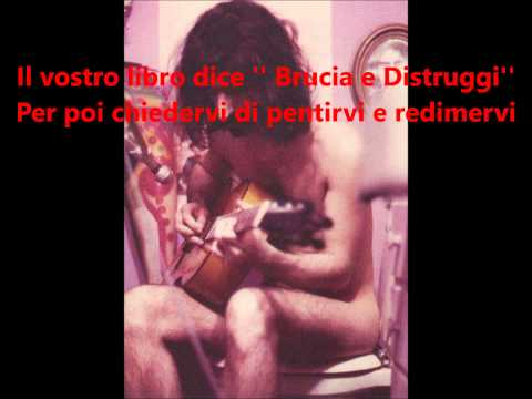 [SUB ITA] Frank Zappa-Dumb all over (sottotitoli in italiano)