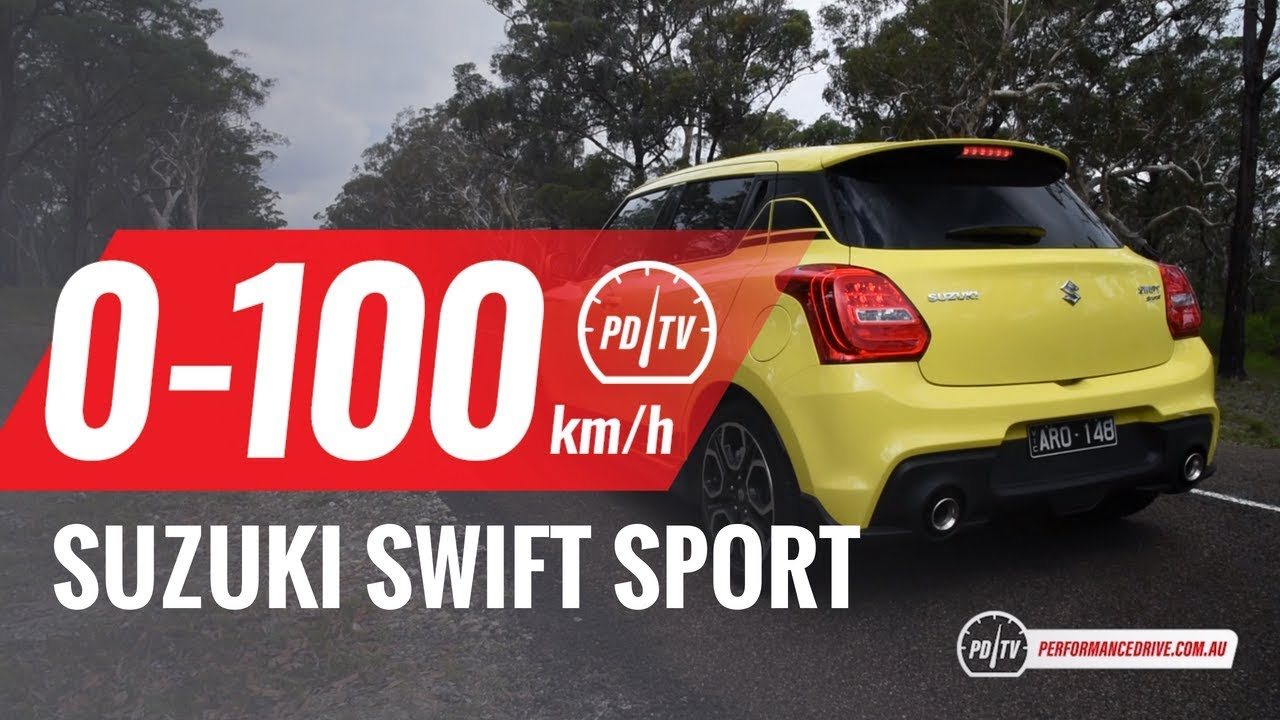 2018 suzuki swift sport 0 100km h engine sound manual vs auto youtube. Black Bedroom Furniture Sets. Home Design Ideas
