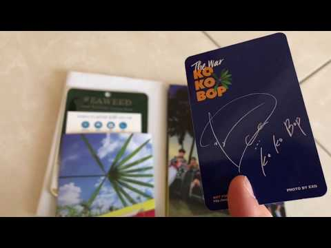 Unboxing~ EXO The War: Private...