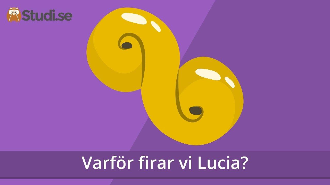 varför firar vi lucia