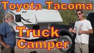 How to Live in a Toyota Tacoma Camper