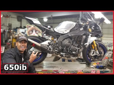 download How To Make the Yamaha R1M 👀 & SOUND AMAZING!!! Akrapovic Install Part 2