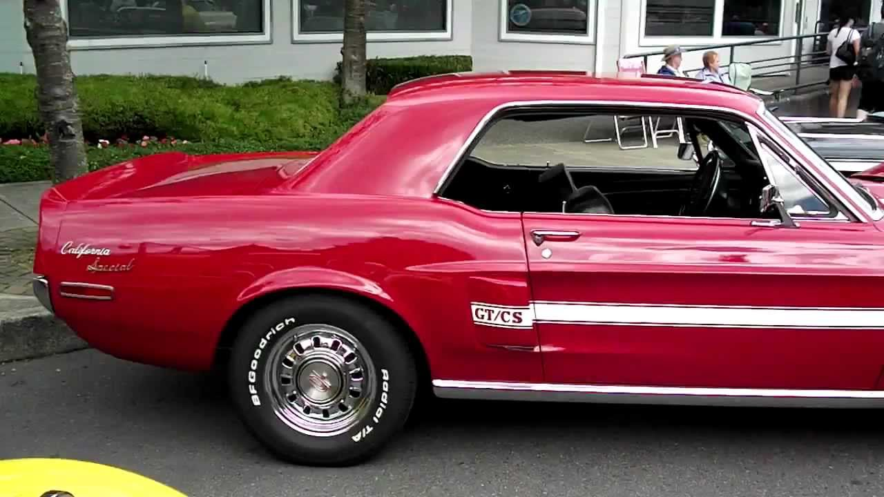 1968 california special mustang seaside cruizers qualicum beach 2012 youtube. Black Bedroom Furniture Sets. Home Design Ideas