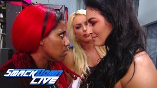 Mandy Rose & Sonya Deville smash Ember Moon's video game system: SmackDown LIVE, June 11, 2019