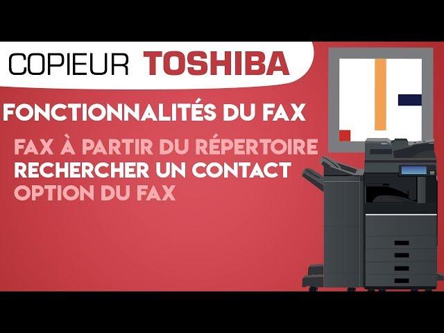 #16. Fonctionnalités du Fax