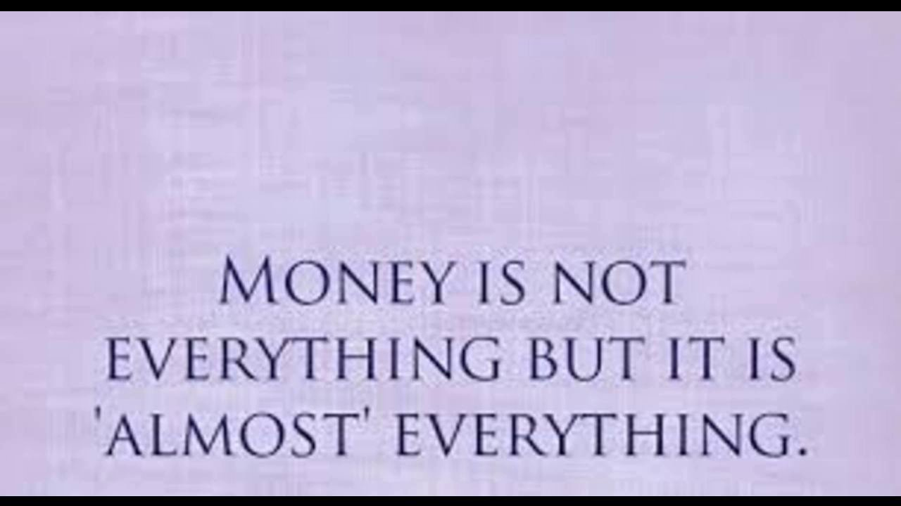 the importance of money in our lives Our lives are gradually improving and our money need for daily life is thus on the increase it is obvious that money is very helpful to us, but in addition to their benefits, there are many downsides that it has brought to life.