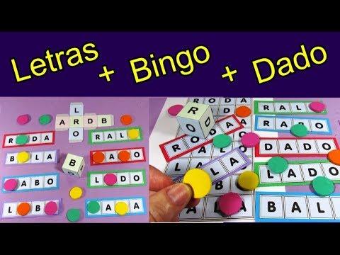 Novo Bingo De Palavras Com Dado Youtube