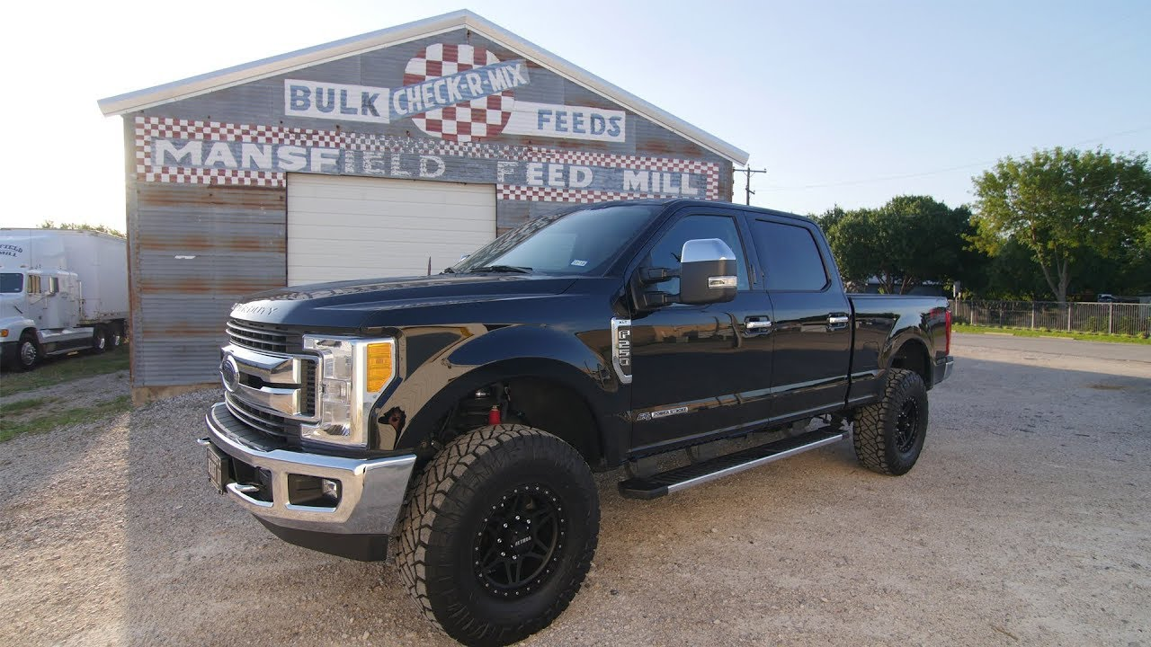 2017 f250 super duty leveled on 37 s method race wheels mr312 and nitto ridge grappler tires [ 1280 x 720 Pixel ]