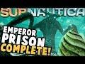 Subnautica - EMPEROR PRISON IS COMPLETE! Full-Size Emperor, Egg Hatching, & More - Subnautica Update