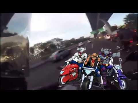 Cuidado con los moto ratones, intento de robo biker