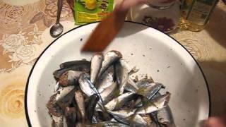 Быстрое приготовление рыбы. Ставрида.